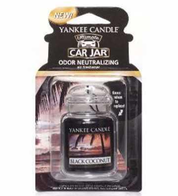 Noix de coco noire - Ultimate Car Jar Yankee Candle - 1