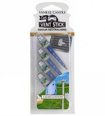Coton Frais - Vent Stick Car Jar Yankee Candle - 1
