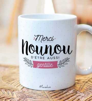 Merci Nounou - Mug