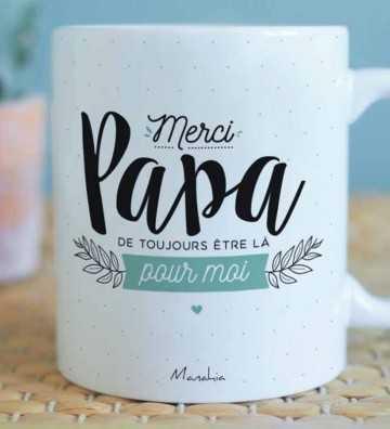 Merci Papa - Mug Manahia - 1