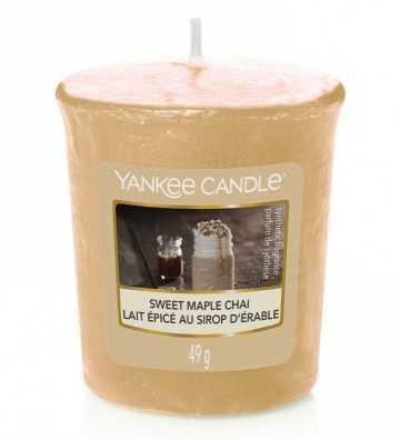 Lait épicé au sirop d'érable - Votive Yankee Candle - 1