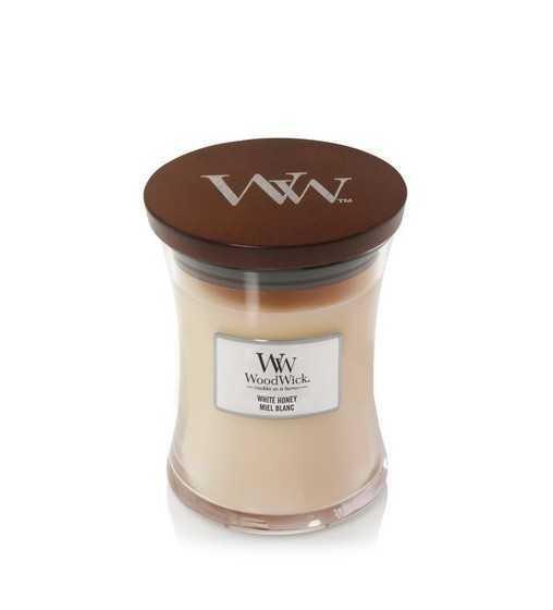 Miel blanc - Moyenne Jarre Wood Wick - 1