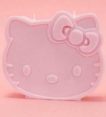 Hello Kitty - Bougie 2 mèches