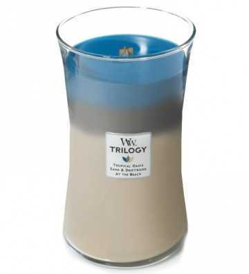 Trilogy Escapade nautique - Grande jarre Wood Wick - 1