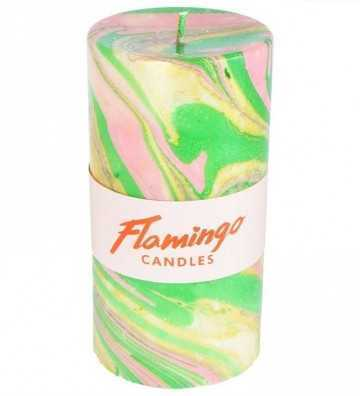 Berverly Hills - Bougie Marbre Flamingo Candles - 1