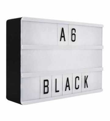 Lightbox A6 Noire