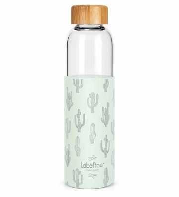 Bouteille en verre Cactus - 500ml Créa-Bisontine - 1