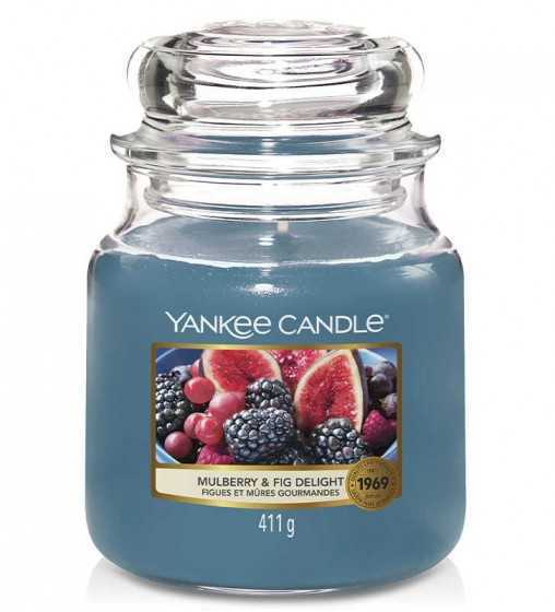 Figues et Mures Gourmandes - Moyenne Jarre Yankee Candle - 1