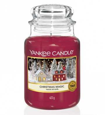 Magie de Noël - Grande Jarre Yankee Candle - 1