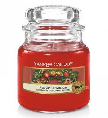 Couronne de Pommes Rouges - Petite Jarre Yankee Candle - 1