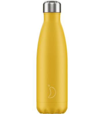 Bouteille Matte Jaune 500ml Chilly'S Bottle - 1