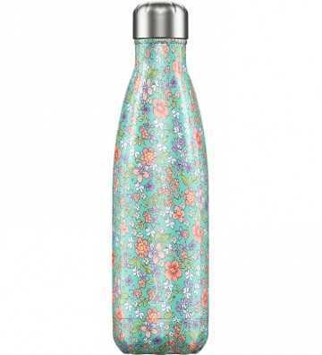 Bouteille Florale Pivoine 500ML Chilly'S Bottle - 1