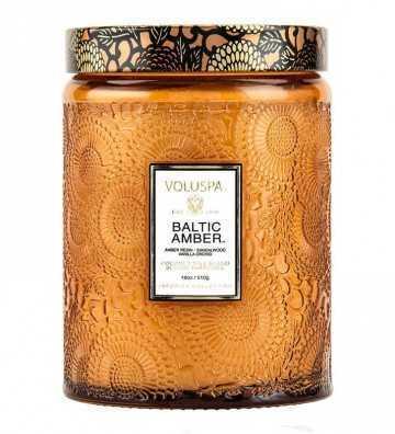 Baltic Amber - Grande Bougie Voluspa - 1