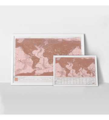 Carte à gratter Marbre - Petit Format