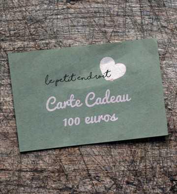 Carte Cadeau 100€ Le Petit Endroit - 1