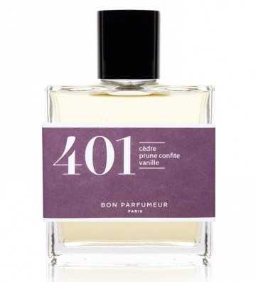 Eau de parfum 401 : cèdre / prune confite / vanille Bon Parfumeur - 1