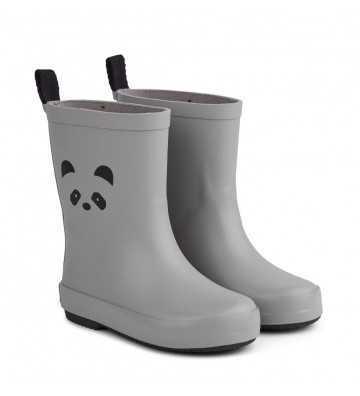Bottes de pluie caoutchouc Panda Liewood - 1