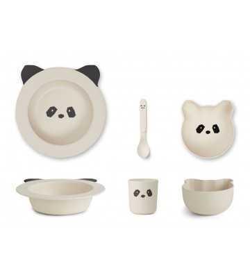 Bamboo set Baby Panda Liewood - 1