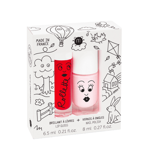 Duo Rollette + Vernis  Kids Cottage Nailmatic - 1