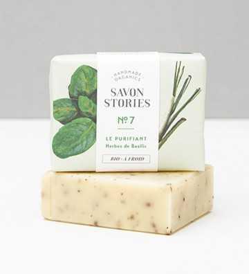 Le Purifiant - Savon Bio Savon Stories - 1