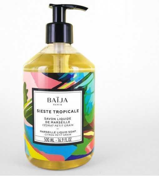Sieste Tropicale • Savon Liquide de Marseille 500ml Baïja - 1
