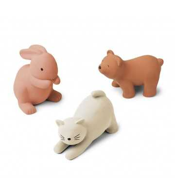 Jouets en silicone animaux Rose mix Liewood - 1