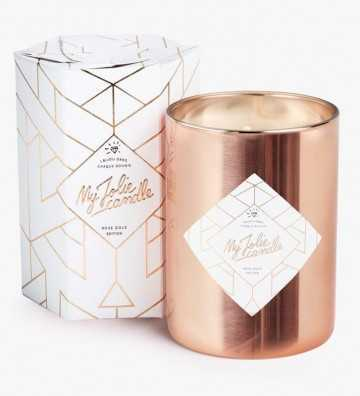 Rose Gold Edition - Bougie-Bijou avec Collier My Jolie Candle - 1