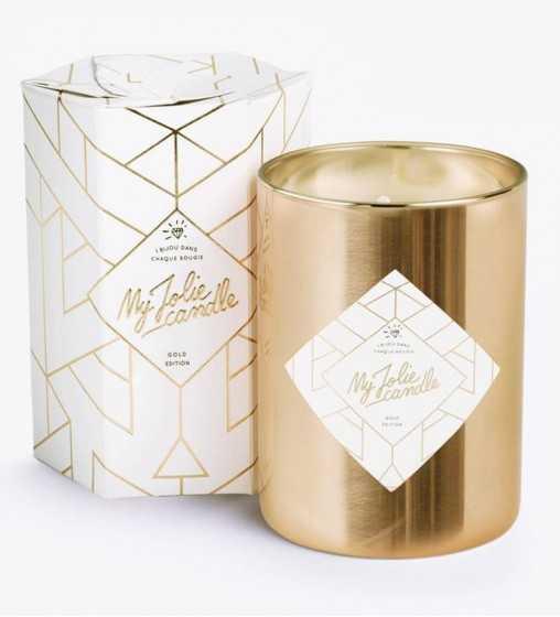 Gold Edition - Bougie-Bijou avec Bracelet My Jolie Candle - 1