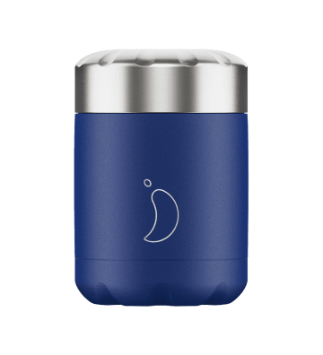 Lunchbox Matte Blue - 300ml Chilly'S Bottle - 1