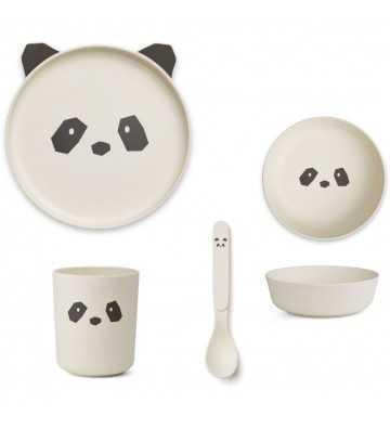 Bamboo set Panda Crème Liewood - 1
