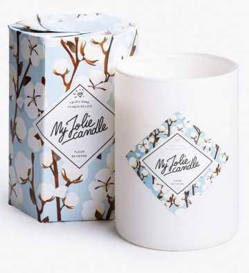 Fleur de Coton - Bougie-Bijou avec Collier Argent My Jolie Candle - 1