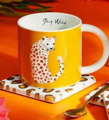 Mug Leopard Love Sass & Belle - 2