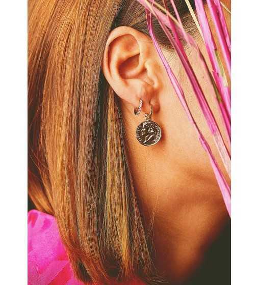 Boucles d'oreilles Delhi Argent Mya Bay - 2