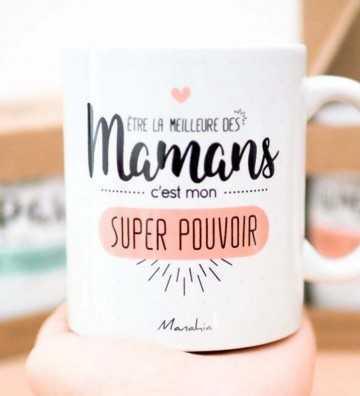 Être la Meilleure des Mamans - Mug