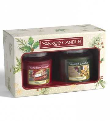 Coffret 2 Moyennes Jarres Noël 2020 Yankee Candle - 1