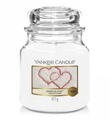 Amour d'Hiver - Moyenne Jarre Yankee Candle - 1
