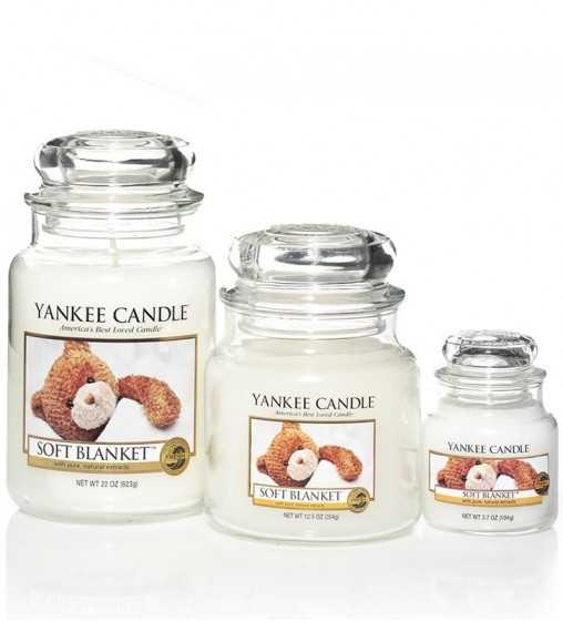 Couverture douce - Moyenne Jarre Yankee Candle - 2
