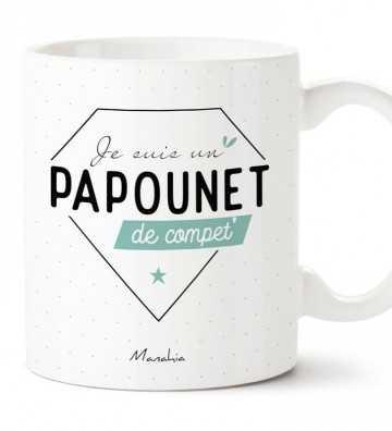 Je suis un Papounet de Compet' - Mug Manahia - 1