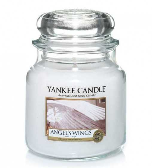 Ailes d'ange - Moyenne Jarre Yankee Candle - 1