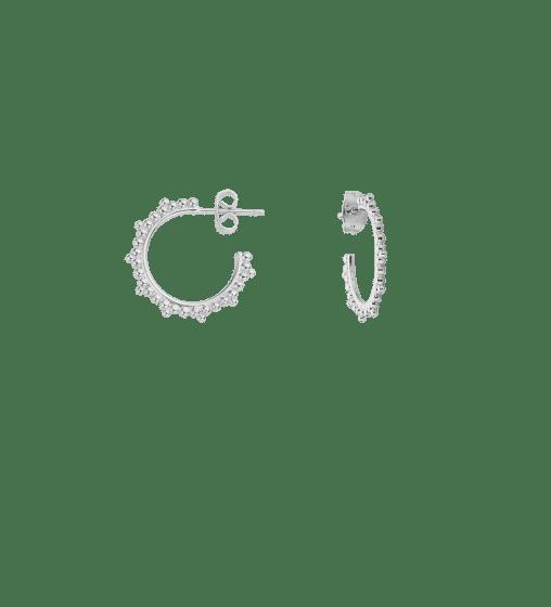 Boucles d'oreilles India Argent Mya Bay - 1