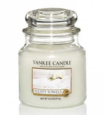 Serviettes Moelleuses - Moyenne Jarre Yankee Candle - 1
