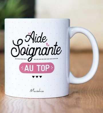 Aide Soignante au Top - Mug Manahia - 1