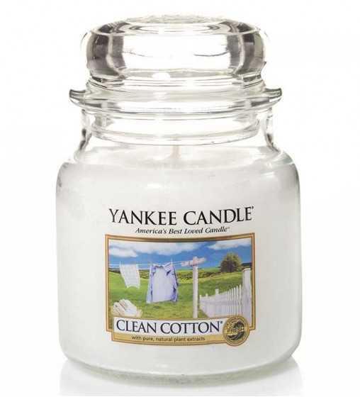 Coton Frais - Moyenne Jarre Yankee Candle - 1