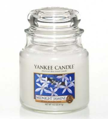 Jasmin de Minuit - Moyenne Jarre Yankee Candle - 1
