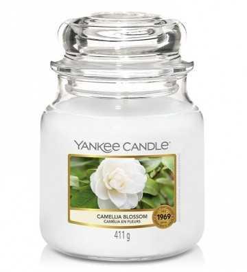 Camélia en Fleurs - Moyenne Jarre Yankee Candle - 1