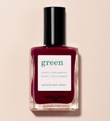 Dark Pansy - Vernis Green