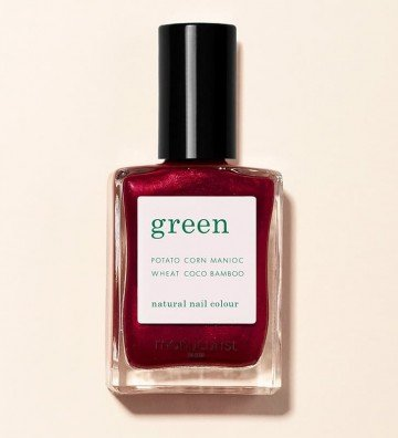 Red Hibiscus - Vernis Green