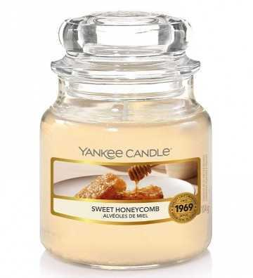 Alvéoles de Miel - Petite Jarre Yankee Candle - 1