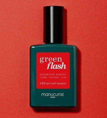 Poppy Red - Vernis Green Flash