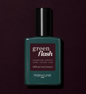 HollyHock - Vernis Green Flash